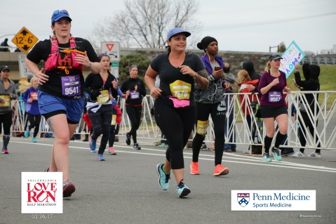 Danielle and I at the finish line...