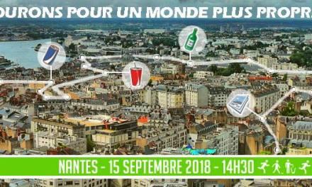 Run eco , journée citoyenne de la proporeté à Nantes