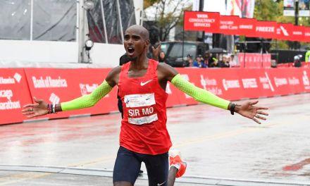 Marathon de Chicago, Mo Farah en démonstration