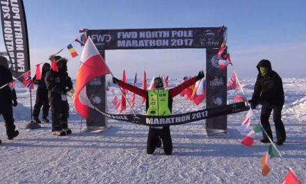 Présentation : marathon du Pôle Nord.