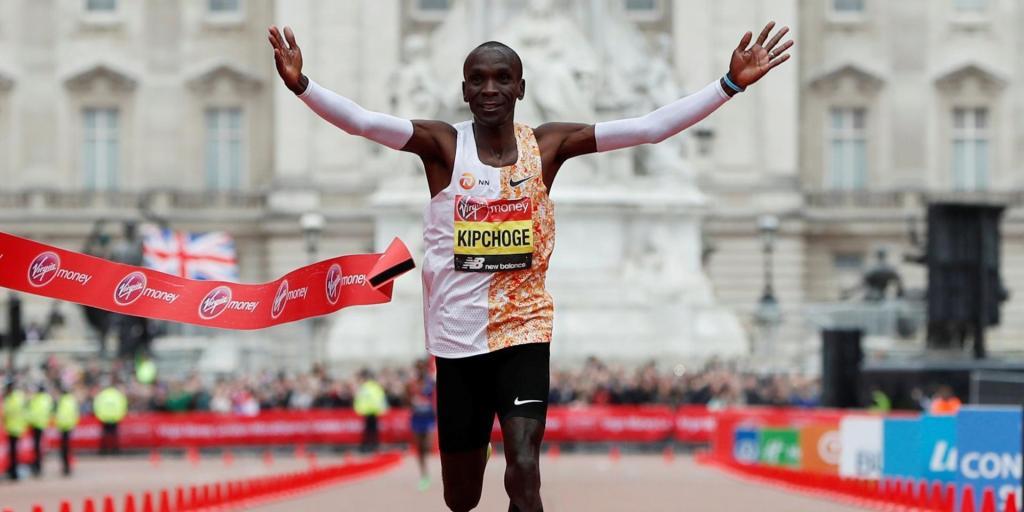 Eliud kipchoge marathon londres actualité running
