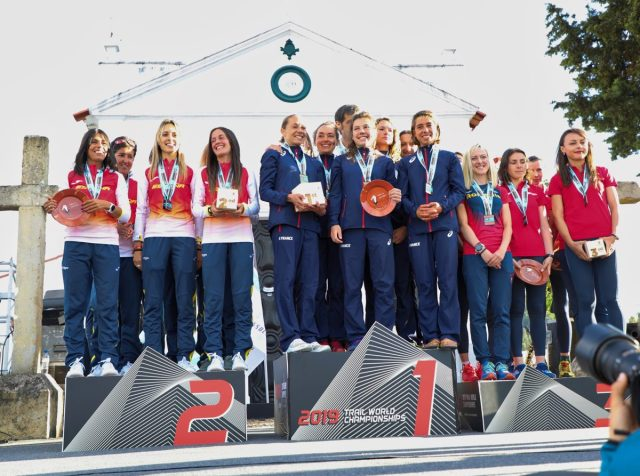 résultat mondiaux de trail 2019, podium équipe de france