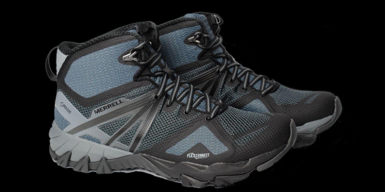 Test Merrell MQM Flex Mid GORE-TEX, chaussures de randonnée.