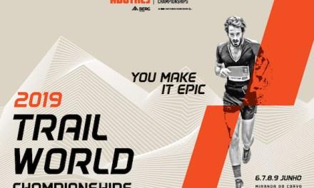 Championnat du monde de Trail 2019 au Portugal, la course féminine.