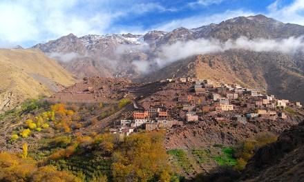 Stage Trail avec Nathalie Mauclair dans les montagnes Marocaines.