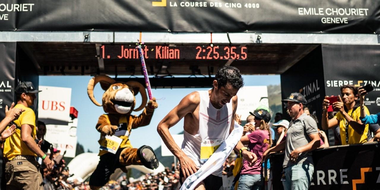 Résultats Sierre Zinal 2019: Kilian Jornet encore et toujours sans concurrence!