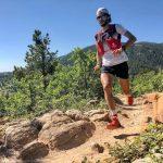 Victoire Thibaut Baronian qui remporte le premier trail Français de cette année 2021: le Trail de la cité de Pierres à Montpellier-le-vieux.