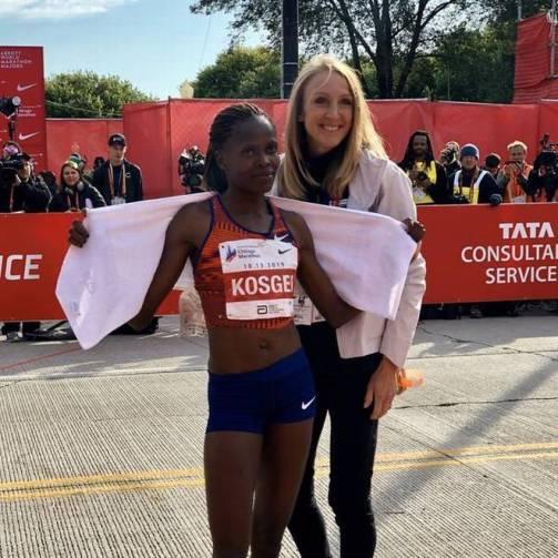 Kosgei radcliffe marathon