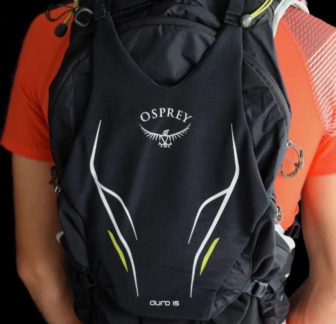 Test Osprey Duro 15 L, le sac de trail tout confort.