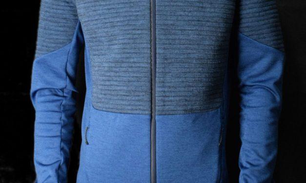 Test Veste Odlo Millenium Yakwarm, une seconde couche à base de laine de Yak idéale contre le froid.