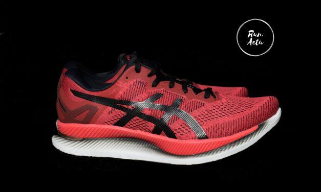Test Asics GlideRide, une chaussure à «bascule» pour économiser son énergie…