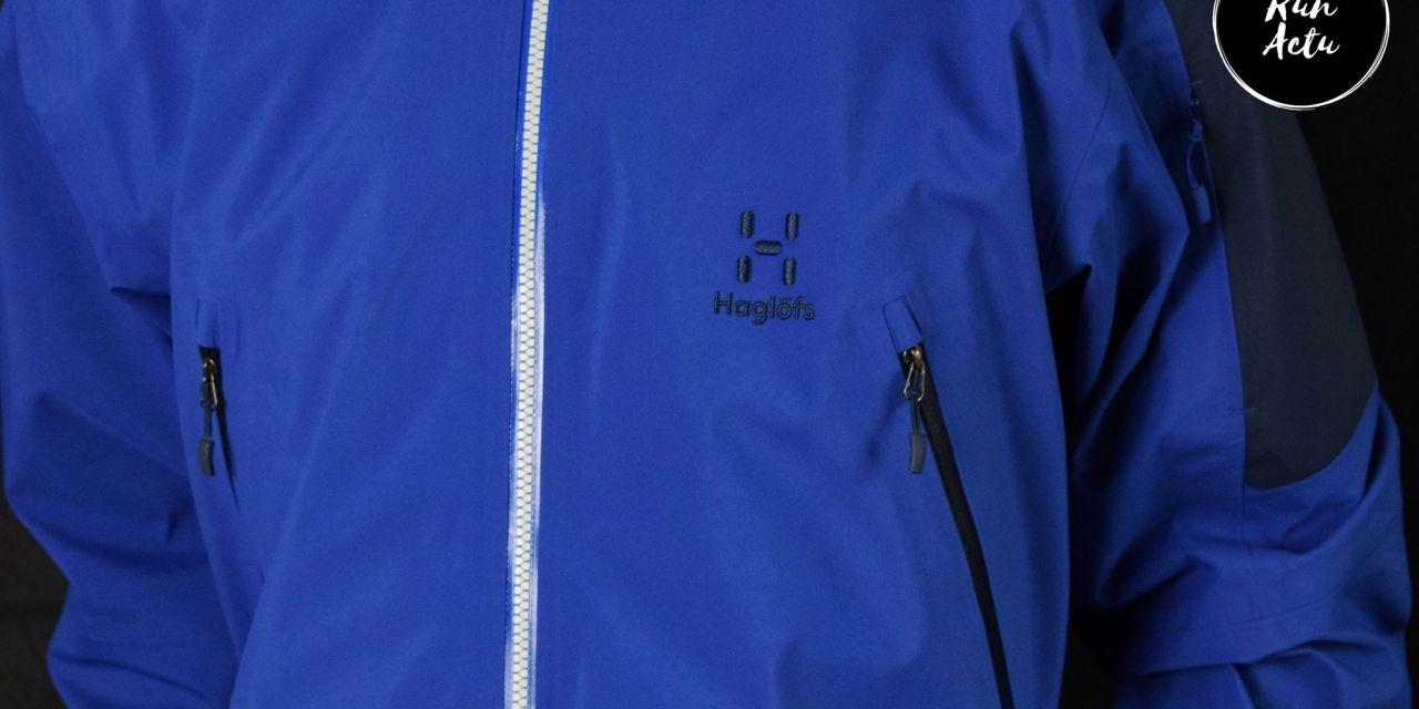Test veste Haglöfs Couloir, idéale pour les sorties à ski de randonnée.