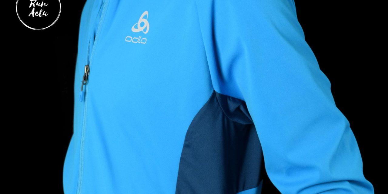Test veste Odlo Aeolus warm, un savant mix entre simplicité et efficacité.