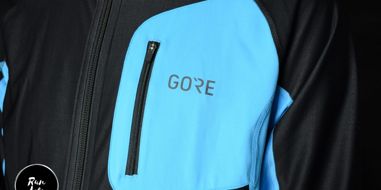 Test veste coupe-vent running; Gore Wear r3 partial WindStopper