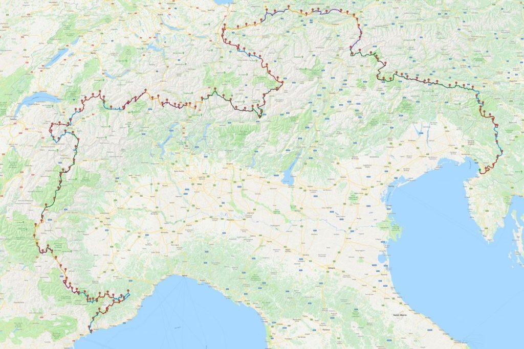 Guillaume Arthus Via Alpina