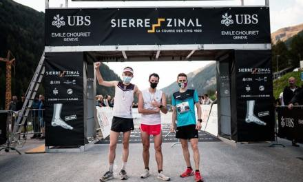 Résultats Sierre-Zinal 2020, Kilian Jornet remporte la victoire d'une courte tête devant Rémi Bonnet.