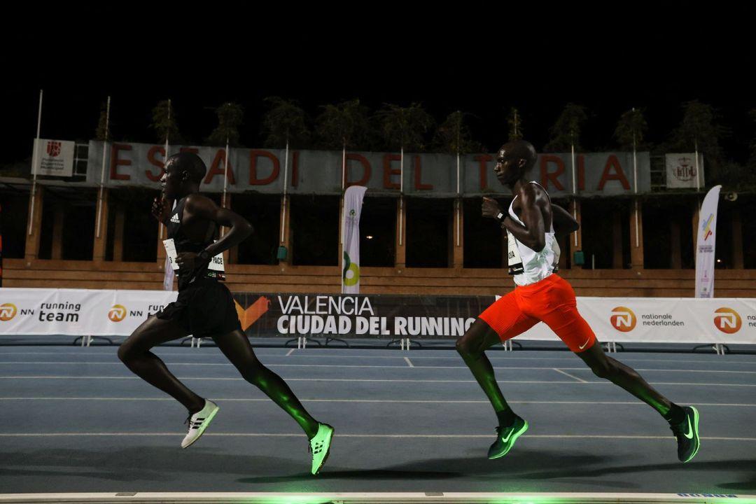 record 10000m Joshua Cheptegei