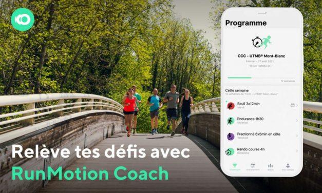 Application Run Motion coach, découvrez les nouveautés pour encore mieux nous accompagner dans notre entraînement running.