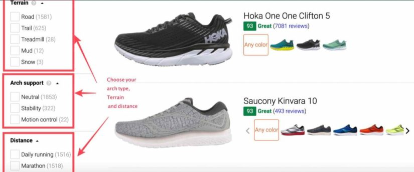 Bestseller running shoes in India