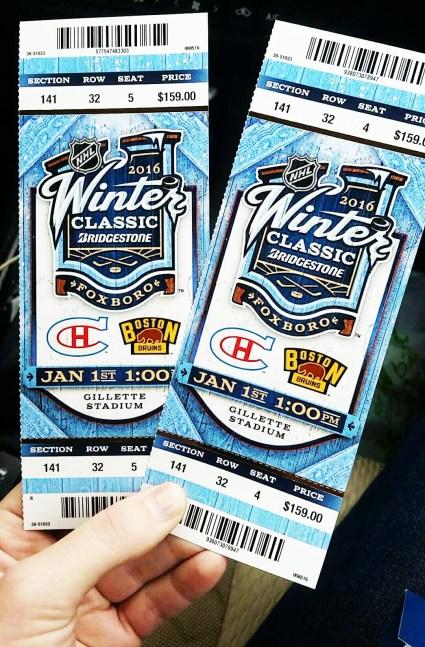 NHL Winter Classic - Boston Bruins vs Montreal Canadiens