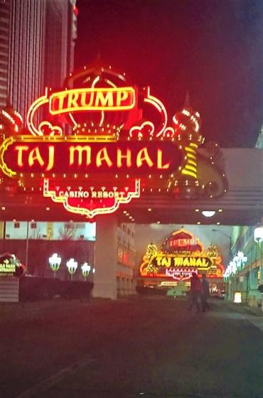 The Taj Mahal at Atlantic City