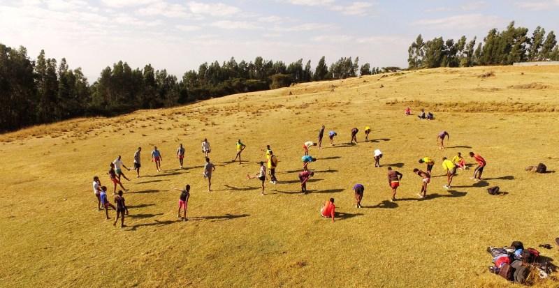 Run Africa Ethiopia group training Addis Ababa