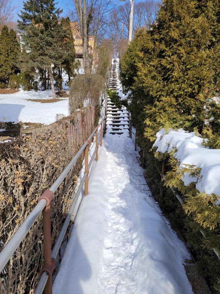 Steps from Glenhurst to Lougean