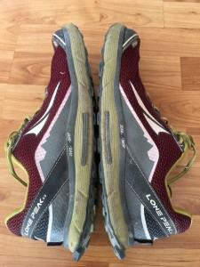 Altra Lone Peak 2.5 Outside