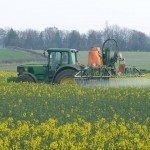 pesticide sprayin