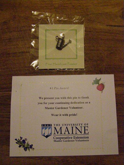 master gardener award