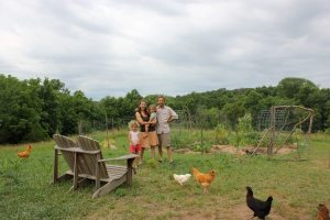 raising a family while establishing a new farm presernts challenges