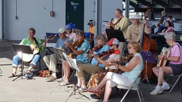 music at the bread fair