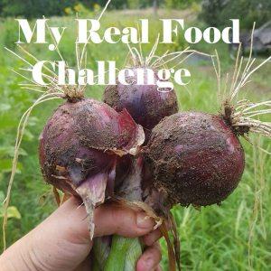 my real food challenge