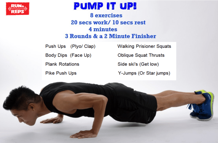 Pump It Up Workout HIIT
