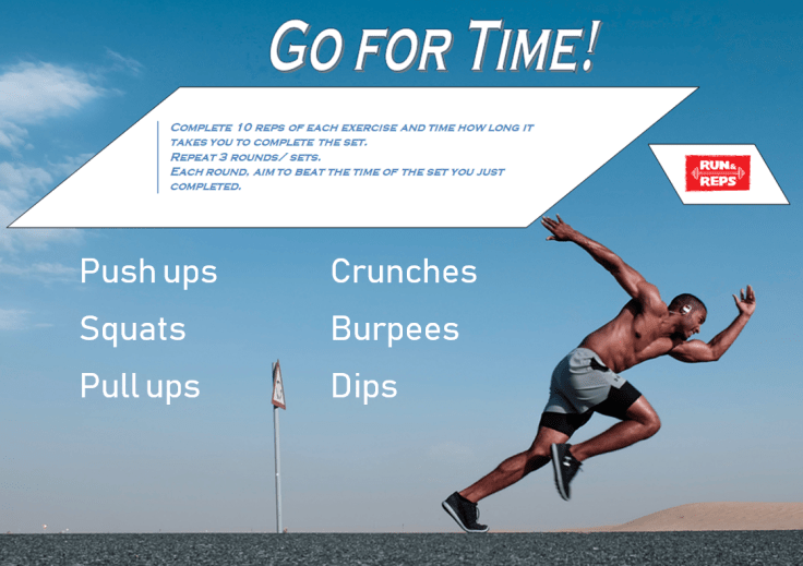 Go for time workout