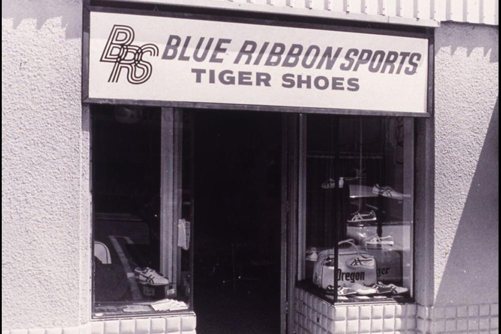 Магазин Blue Ribbon Sports в Портленде, штат Орегон