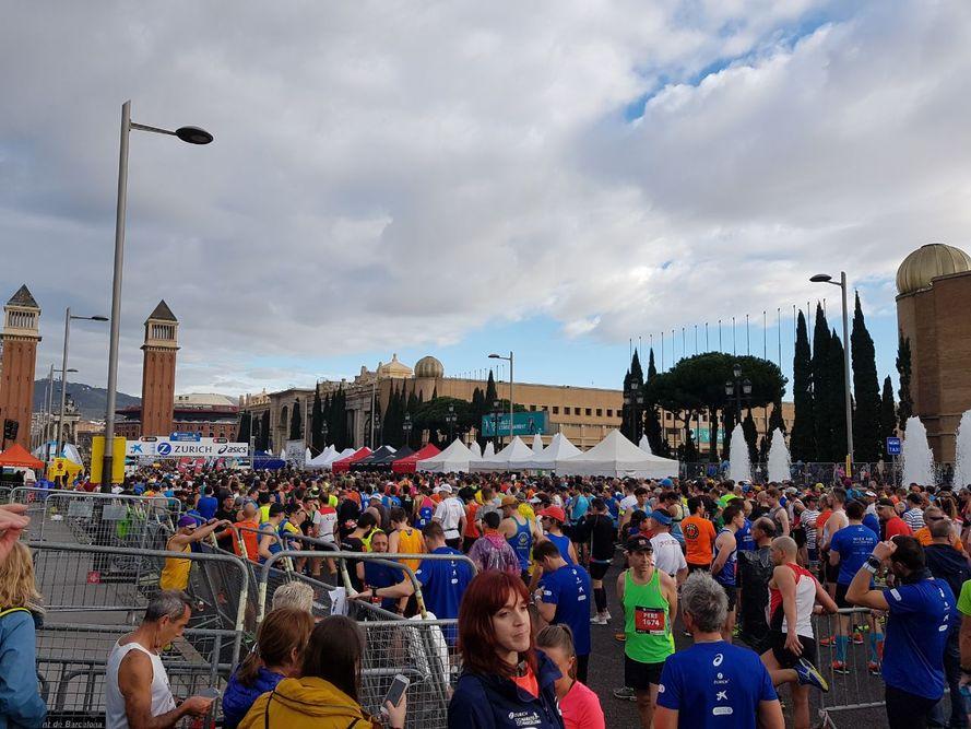 Барселонский марафон: не самый живописный, но душевный