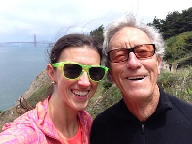 Blair & her original inspiration: her father.