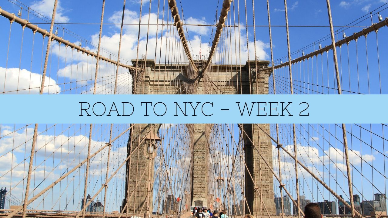 WHAT I EAT IN A DAY – ROAD TO NYC WEEK 2