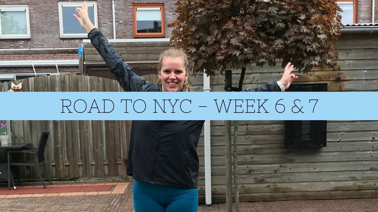 LEKKER, LEKKER LOPEN – ROAD TO NYC WEEK 6 & 7