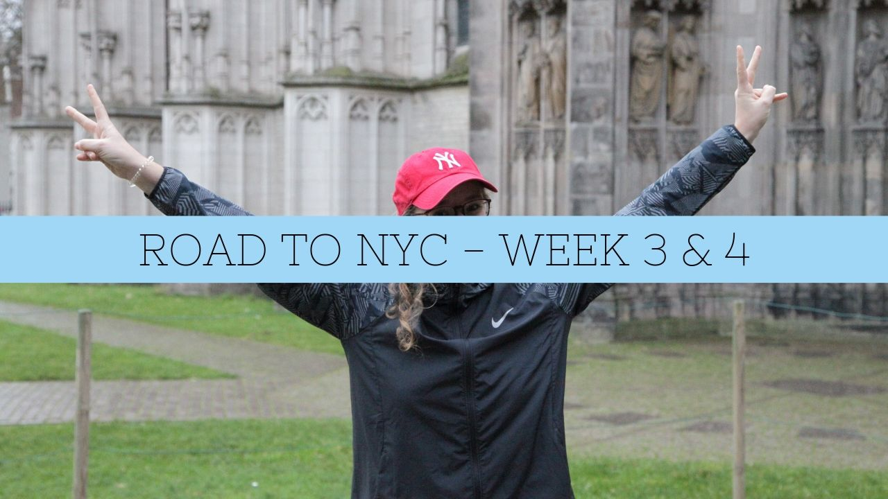 RUNNER DOWN – ROAD TO NYC WEEK #3 & #4