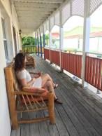 Relaxing in Philipsburg