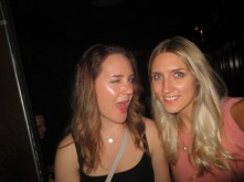 Practicing winking in Chicago nightclubs