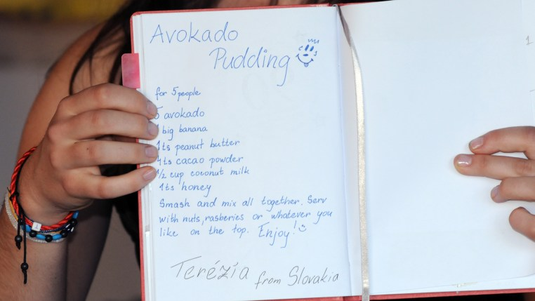 photo of Terézia Ligačová's recipe for Avokado Pudding!