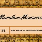 Marathon Measures Hal Higdon Intermediate 1 Third month's training metrics using Hal Higdon Intermediate 1 Marathon Program