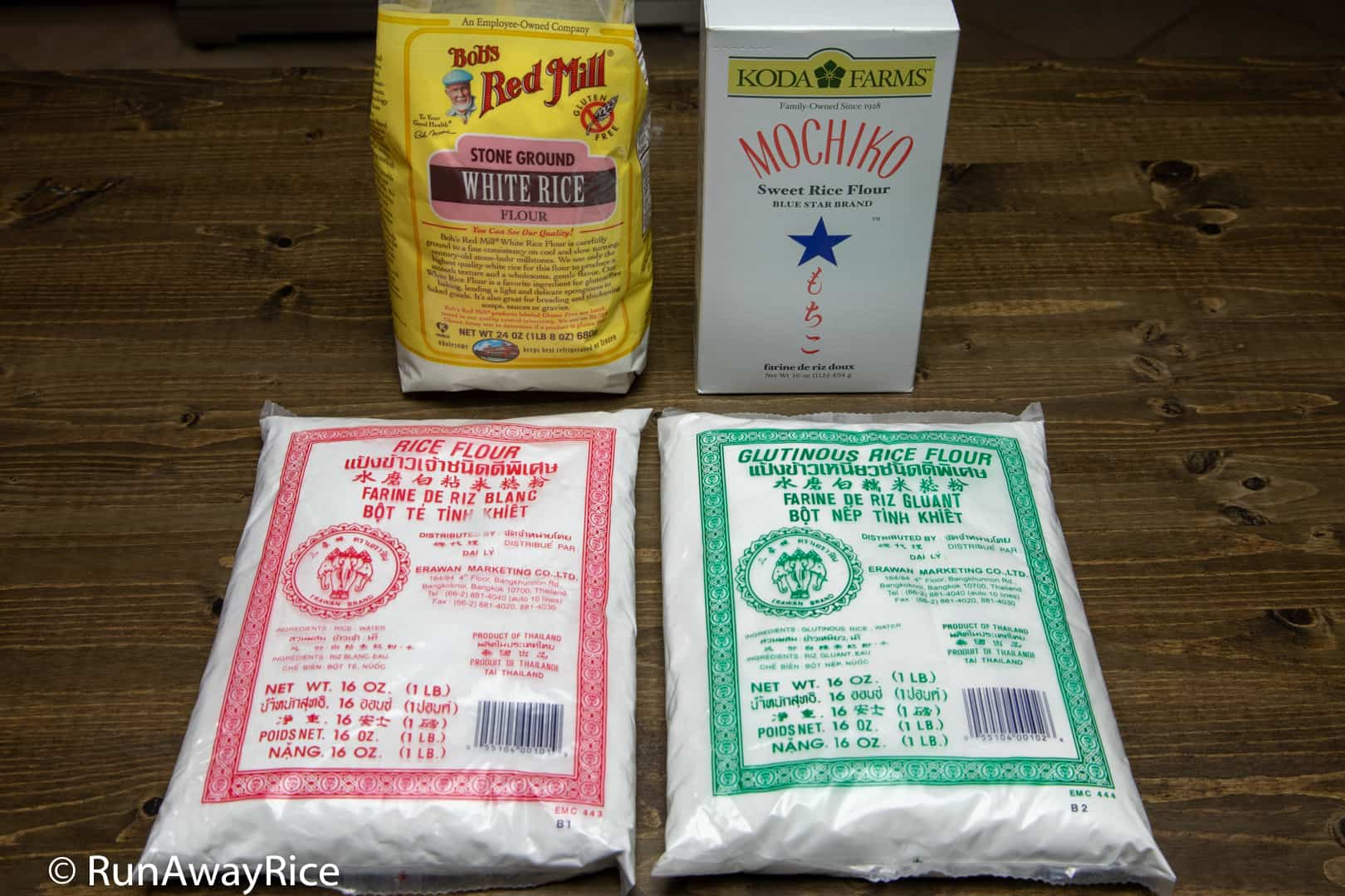 Rice Flour vs. Glutinous Rice Flour - What are the Differences?