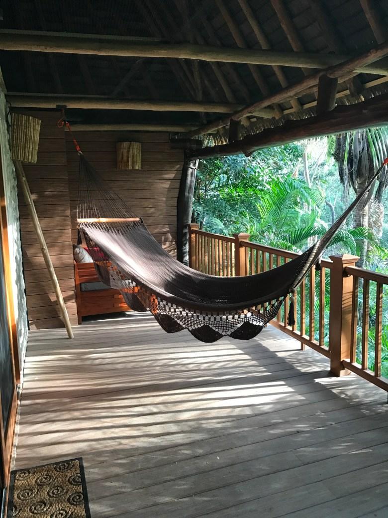 Hammock at Blue Spirit in Costa Rica