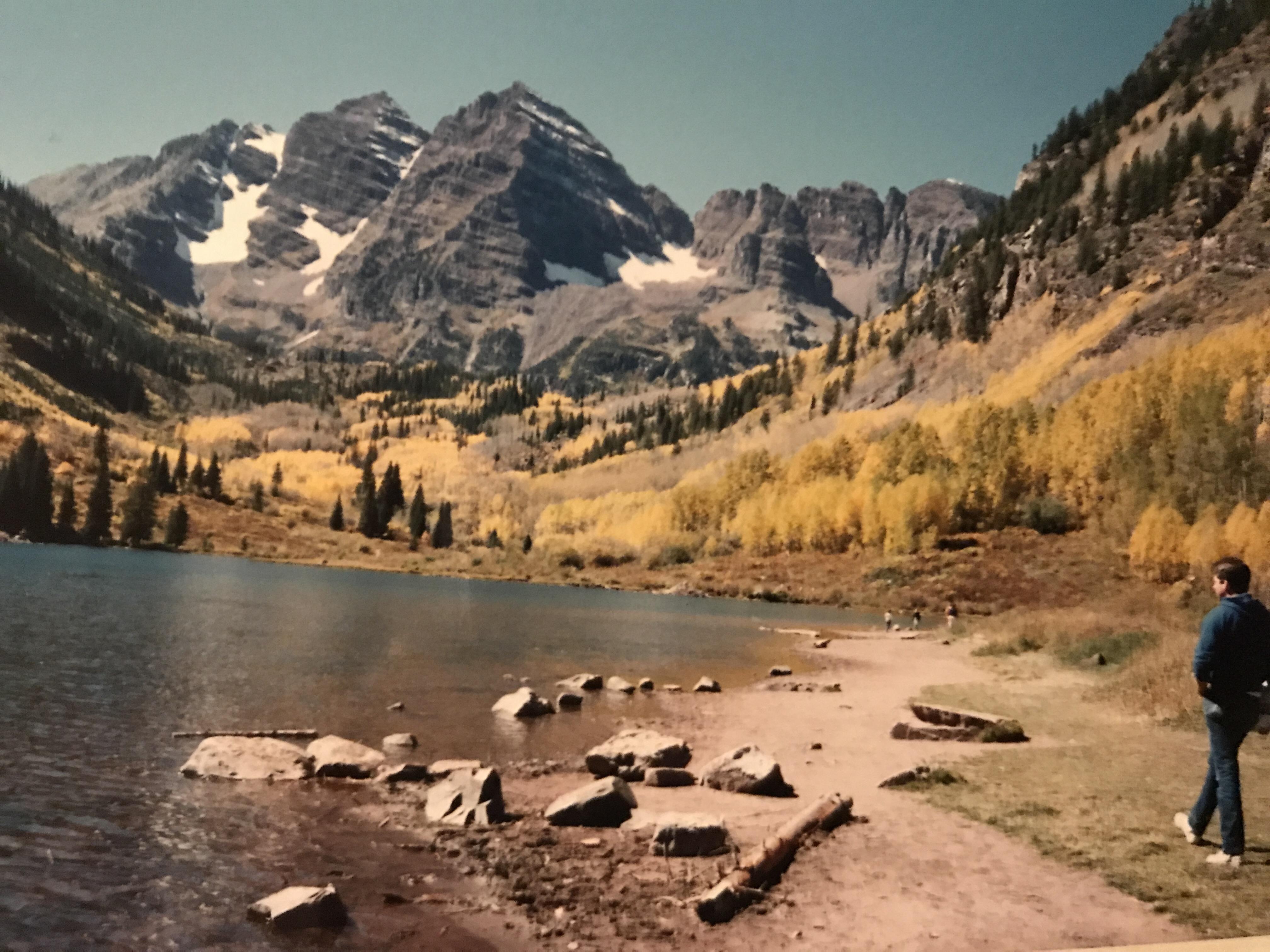 Road trip USA Aspen Colorado