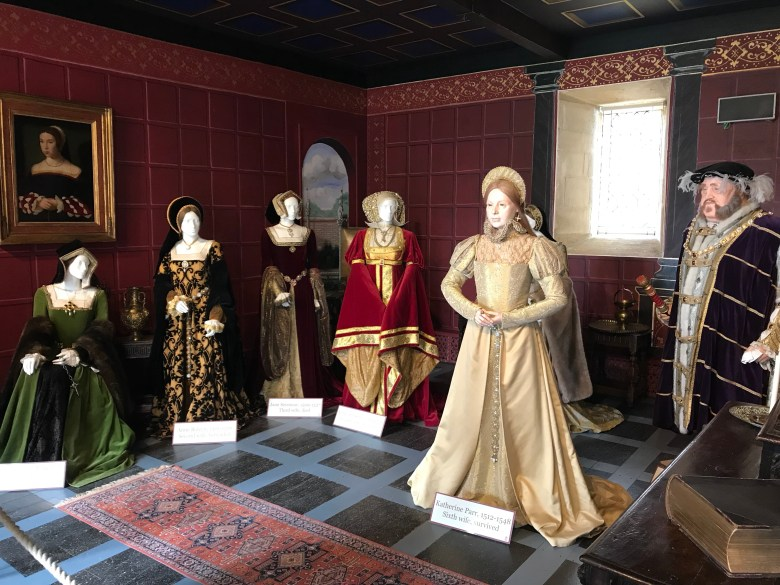 Henry VIII and six wives sudeley Castle