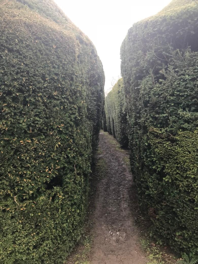 Secret garden Sudeley Castle